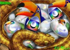 os ovos e crias da serpente